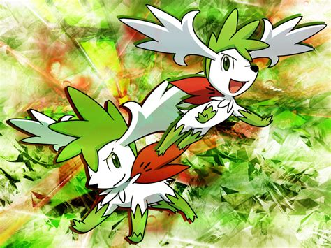 shaymin sky form wallpaper gallery