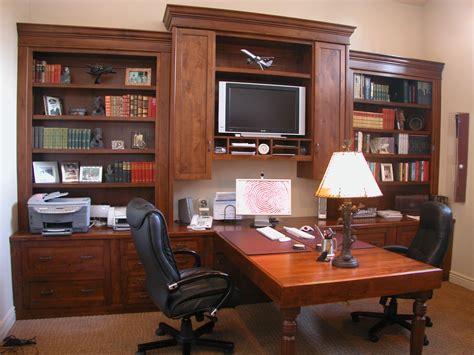 two person peninsula desk home offices libraries unique design cabinet co