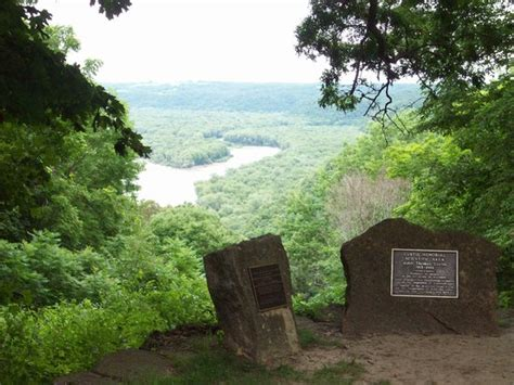 view from wyalusing shelter area picture of wyalusing state park bagley tripadvisor
