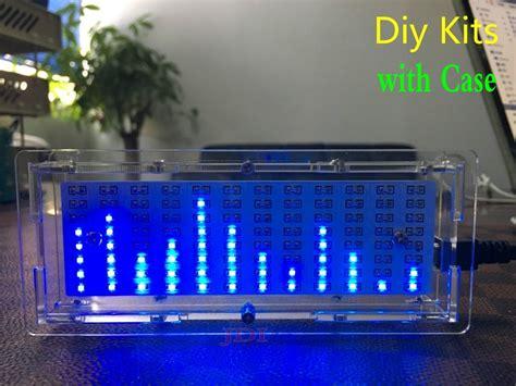 spectrum mp3 new version audio level indicator led music spectrum