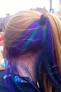 peek a boo hair color peek a boo color awesome hair