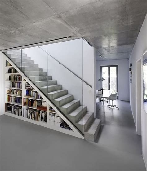 Floating Concrete Stairs And Landing 25 best ideas about concrete stairs on modern stairs design steel stairs design