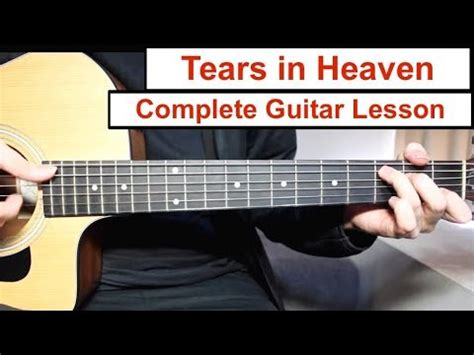 tutorial guitar heaven tears in heaven eric clapton guitar lesson tutorial