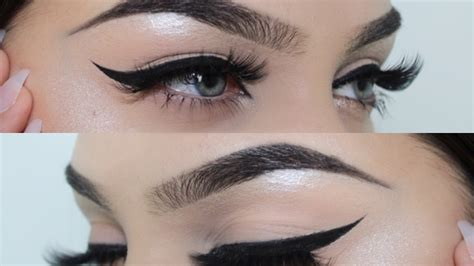 eyeliner tutorial gel liner simple gel eyeliner tutorial youtube