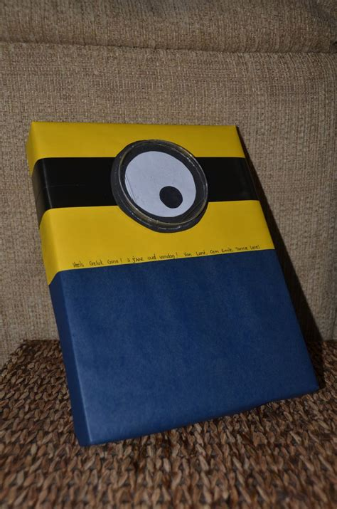 minion gift wrap 17 best ideas about minion craft on paper