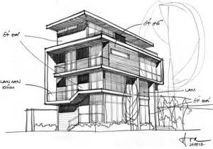 home design sketch free f2 villa by dang duc hoa block architects 22 homedsgn