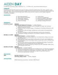 marketing specialist cover letter exles of resumes resume sle wordpad cv