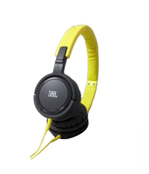 Headset Bando Jbl J 600 buy jbl tempo j03 ear headphones yellow and gray with mic at best price in india