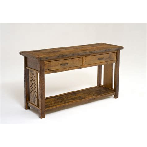 Sequoia Console Table by Sequoia Sofa Table Green Gables