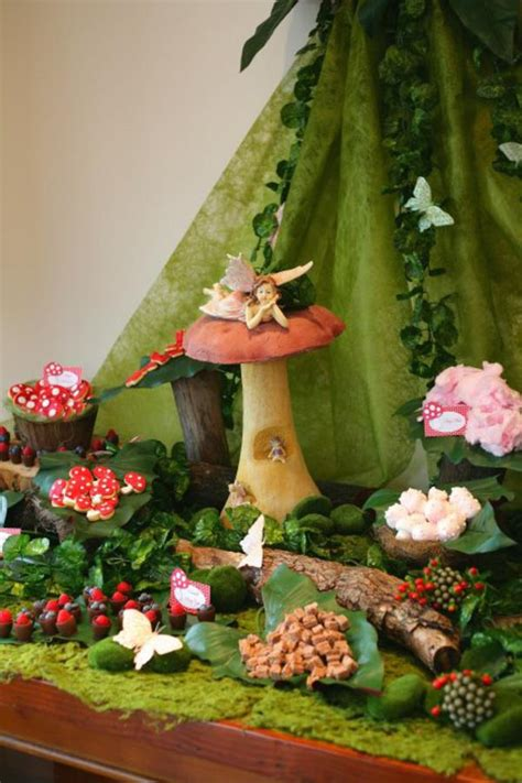 forest theme decorations kara s ideas enchanted forest woodland