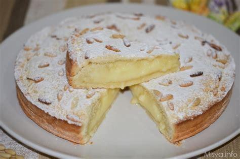 torta mantovana bimby 187 torta della nonna ricetta torta della nonna di misya