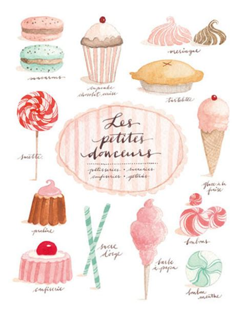 draw sweet treats bakery cupcakes drawings graphic design illustration
