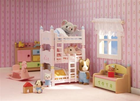 calico critters beds calico critters triple baby bunk beds 20373226241 item barnes noble 174
