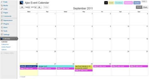 add calendar wordpress plugins