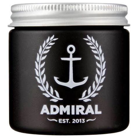 Pomade Admiral iron society fashioned grooming aid pomade based