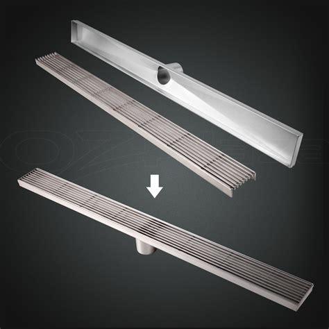 600 1200mm stainless steel tile insert shower grate drain