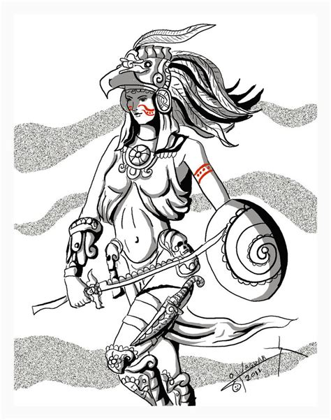 imagenes aztecas para descargar pin azteca guerrero aguila on pinterest