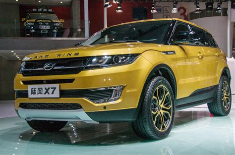 land wind vs land rover range rover evoque vs landwind x7 copycat which is