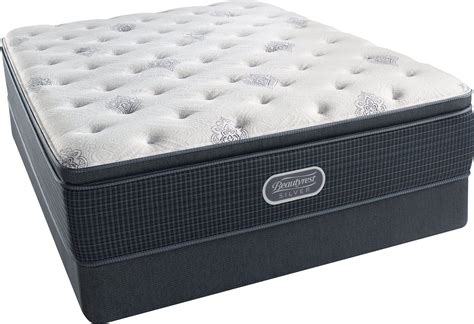beautyrest recharge silver offshore mist pillow top luxury
