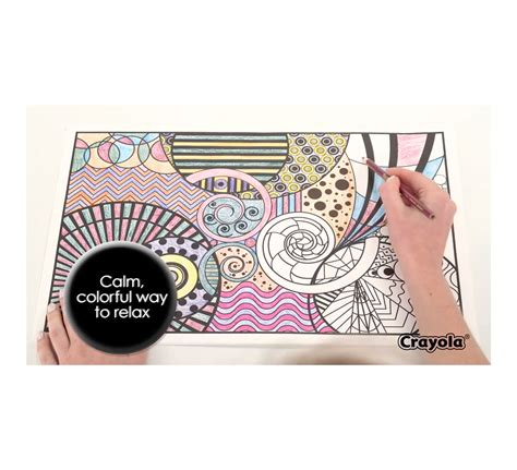 coloring book kits for adults color escapes coloring kit nature crayola