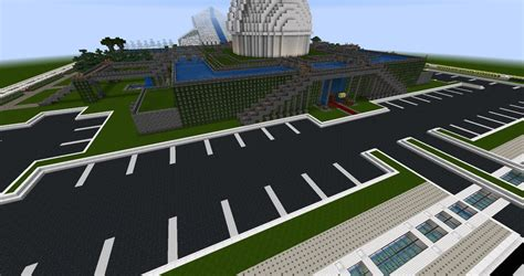 build on my lot heart palace minecraft build parking lot by sinjun2501 on