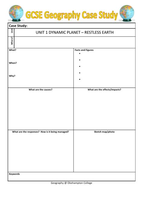 study guide outline template study template