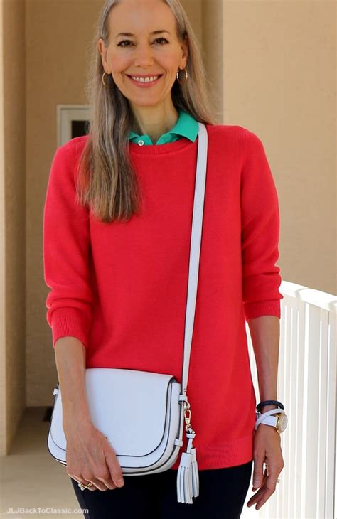preppy for women over 50 preppy look over 40 video classic fashion over 40 casual
