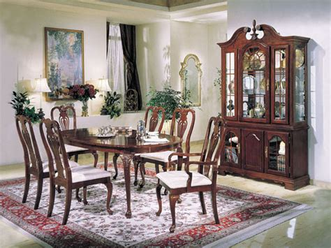 traditional dining room sets cherry peenmedia