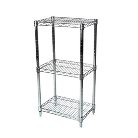 Three Tier Wire Shelving Racks 12 Inches Deep 12 Quot D Wire Shelving Racks