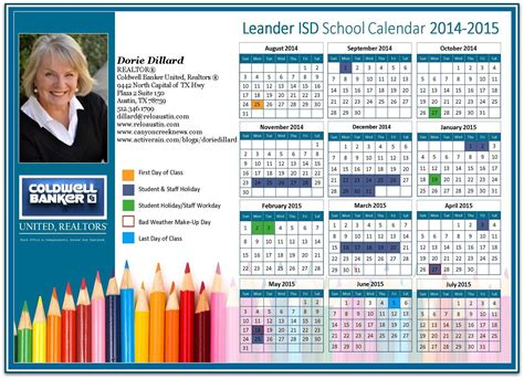 Leander Isd Calendar Approved Rock Leander Isd 2014 15 School Calendars
