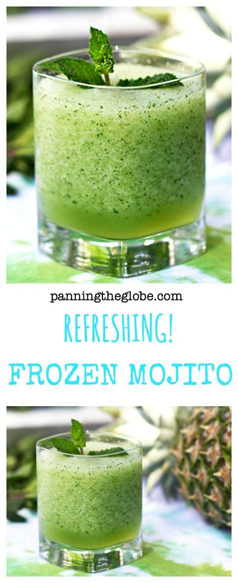 frozen mojito recipe best 25 frozen mojito ideas on cocktail kiwi