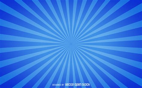 Blue Burst fundo starburst azul baixar vector