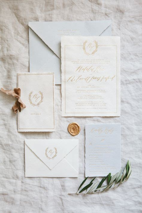 Handmade Paper Stationery - best 25 handmade wedding invitations ideas on