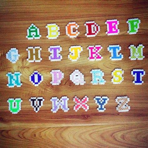 hama bead letter templates 25 best ideas about alphabet on hama patterns punto de and hama
