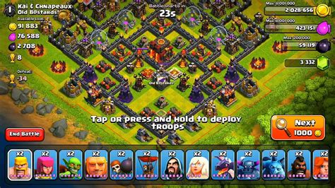 coc funniest attacks clash of clans f a c e r o l l attack strategy youtube