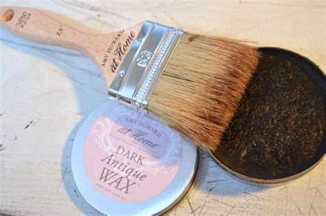 amy howard light antique wax how to antique a basket using paint liming wax