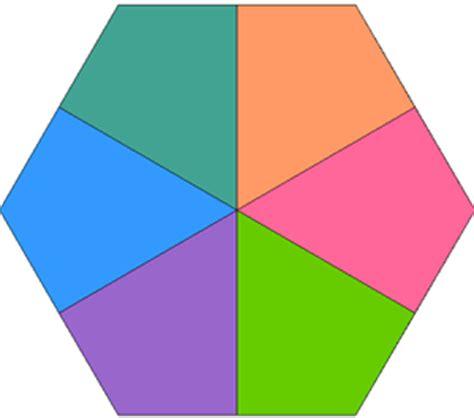 8 inch hexagon template clipart best
