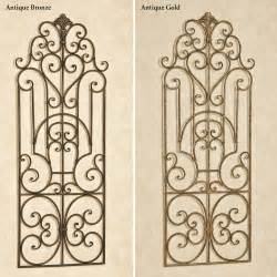 Iron Wall Decor by Antonello Indoor Outdoor Wrought Iron Wall Grille