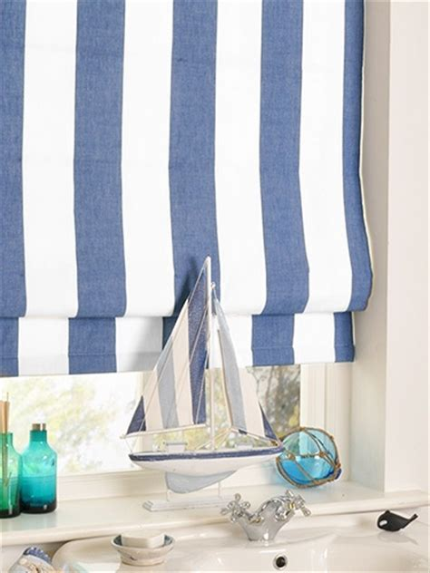 Nautical Blinds amelie delft blue blind from 163 27 25