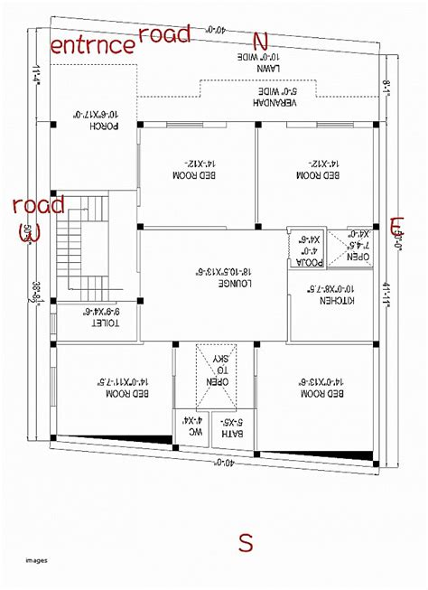 house plan awesome south facing house plans per vas