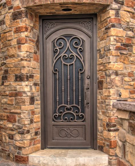 Verona Iron Entry Door By First Impression Security Security Exterior Door