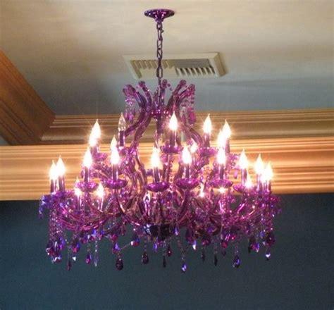 Chandelier Purple Linde Tea Room Part 1 The Scrabblequeen Knits