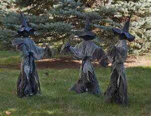 witch decorations lawn witches decoration