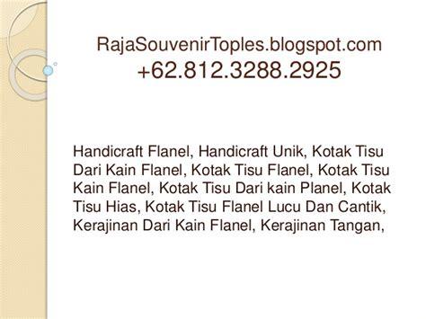 membuat proposal kwu handicraft flanel handicraft unik kotak tisu dari kain