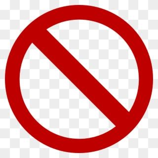 banned dont sign clipart  pinclipart
