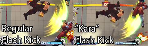 flash kick tutorial guile s kara cancel goes with everything sonic booms