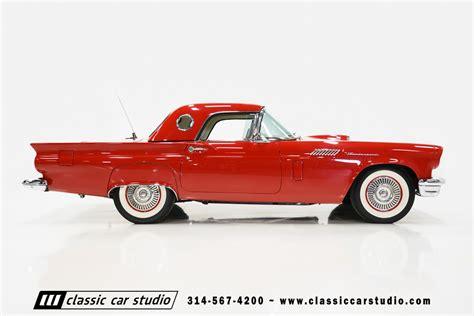 1957 ford thunderbird classic car studio