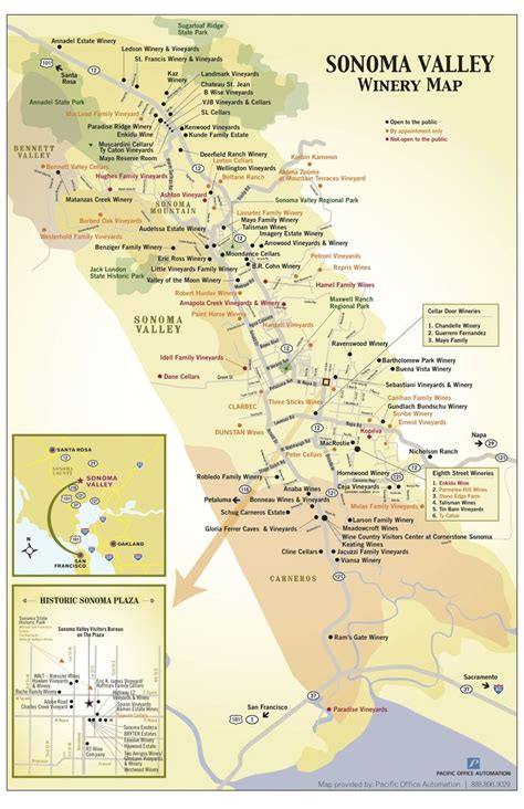 sonoma valley map sonoma valley wine map pictures to pin on