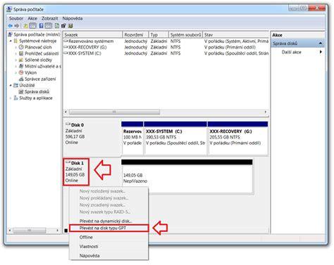 format dysku z gpt na mbr jak přev 233 st gpt disk na mbr disk hardware software
