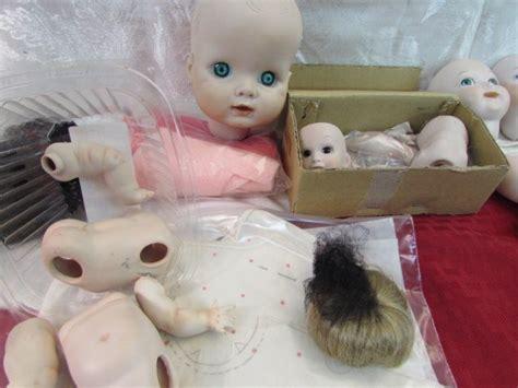 bisque doll parts lot detail porcelain bisque doll parts make or repair